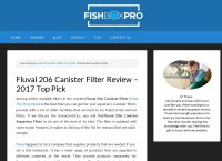 The Fluval 206 Canister Aquarium Filter Review