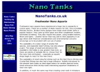 Nano Tanks - Nano Aquarium Tanks, Fish and Shrimp