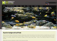AFstyle aquarium backgrounds and rocks