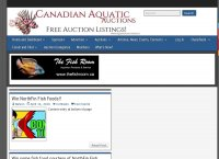 Canadian Aquatic Auctions and Articles