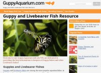 Guppy and Livebearer Fish Resource - GuppyAquarium.com